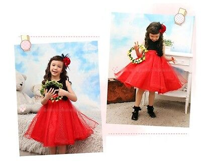 Girls Red Party Formal Dress,Ball, birthday, special occasion, wedding size 4