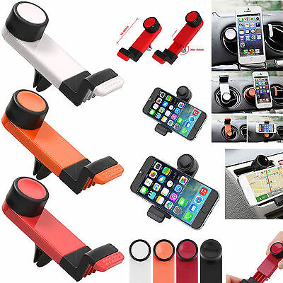Universal In Car Air Vent Phone Mount Cradle Stand Holder For iPhone Samsung HTC