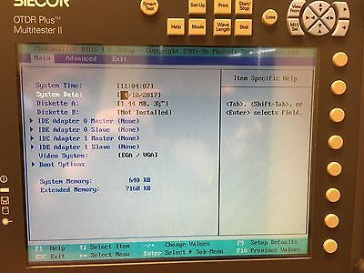 Siecor OTDR Plus Multitester II 340M-1520 SM 1310/1550nm OTDR w/ Power Meter VFL