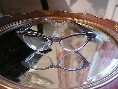 Vintage Style Cats Eye Glasses - Retro Rockabilly Look