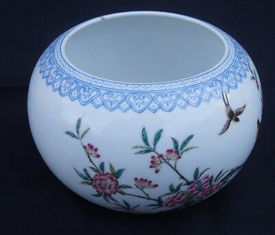 Antique Chinese Porcelain Water Pot Character Seal on Base