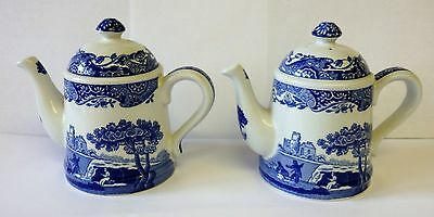 Pair of Spode Italian salt & pepper cruets ( unused ).