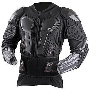 New EVS Body Armour Ballistic G6 Youth Motocross Pressure Suit Chest Protector