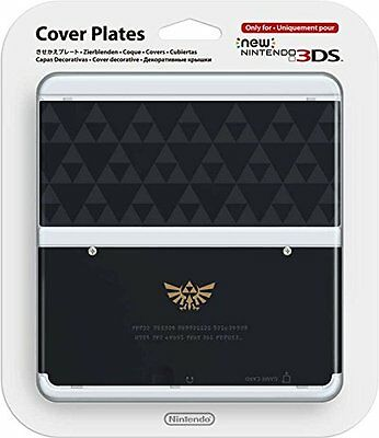 Official Nintendo Cover Plates - Zelda Triforce for NEW 3DS - Brand New