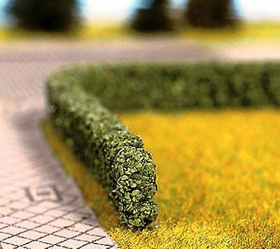 HEDGE Large flexible Hedging GREEN 1.2m long 16mm x 8 mm Trains OO HO 1/87 scale