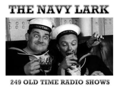 The Navy Lark 250 Old Time Radio Comedy Shows 3 x MP3 CD's *SUPERB*