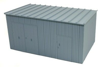 SHED Trackside Equipment Corrugated Iron RTR 38x23mm N 1/160 scale BLMA 505