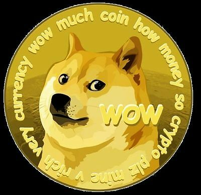500 Dogecoin (.5K DOGE) Direct to Your Wallet Read Discrip
