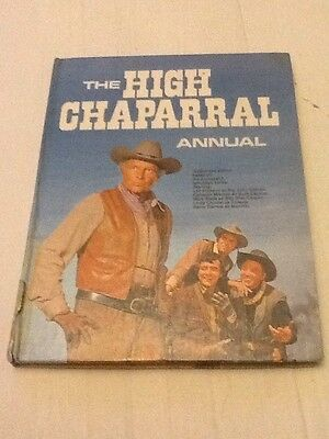 The High Chaparral Annual 1969 Edition Collectable Rare hardback book