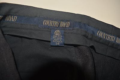 Mens Country road wool pants S36 as new