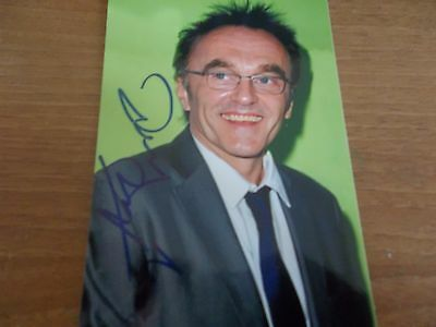 Danny Boyle, U.K Producer, Signed 6 X 4 Photo