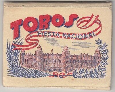 Toros Fiesta Nacional small package of 14 real pictures bull fight corrida