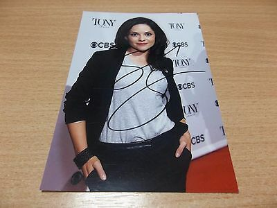 Sarah Greene, U.K Actress, Signed 6 X 4 Photo