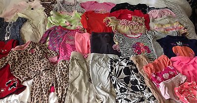 Baby Girls Clothing Size 12-18 Months Lot of 34 Items