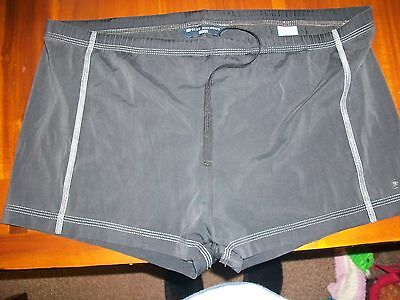 Marks And Spencer Blue Harbour Mans Swim Trunks Black Size Xl