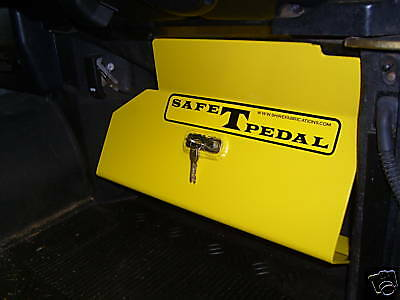 Land Rover Defender Security Safe T  Pedal Heavy Duty Locks