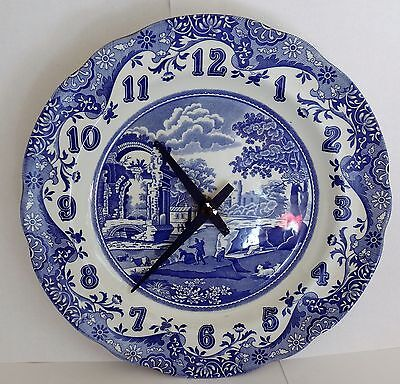 Spode Italian wall clock ( working order ).