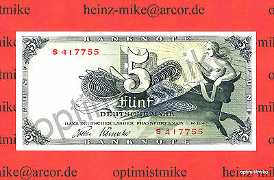 5 DM 1948 UNC Ros.252 a Pick 13 Rarr Germany - Federal Republic Deutsche Mark