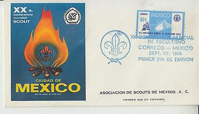 Scouting pathfinders Mexico 1965 Conferencia Mundial Scout