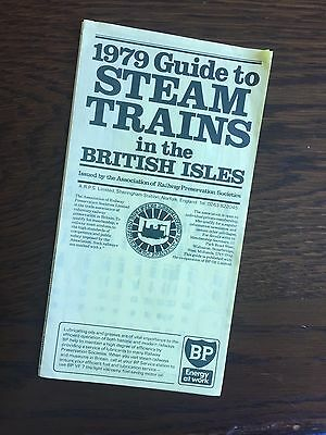 STEAM TRAIN 1979 Guide pamphlet