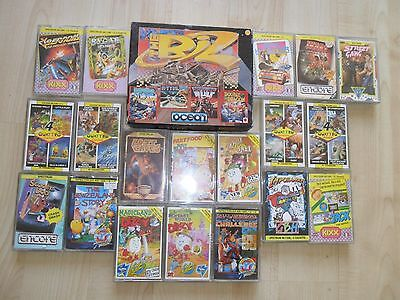 Collection Of Sinclair Zx Spectrum +2/3 Games (Cassettes) - 20 Games