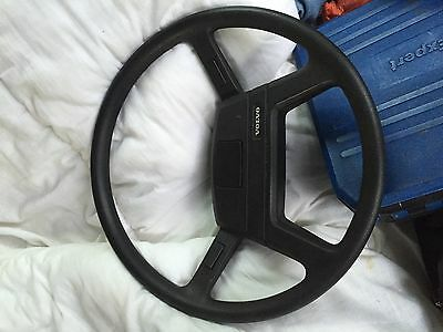 Volvo Olympian Steering Wheel may also fit B10M, B6, B7, etc.
