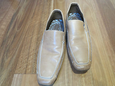 Men's Stylish JULIUS MARLOW As New Leather Shoes Natural Size 12 M