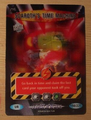 Dr Doctor Who Battles in Time Ultra Rare Scaroth's Time Machine Card #798
