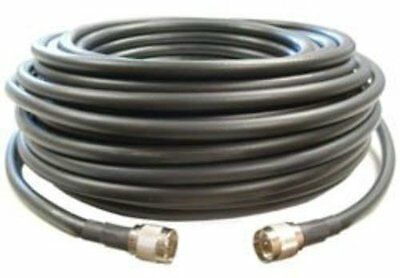 Cellphone-Mate CM400 Black 100 Ft Ultra-Low-Loss Coaxial Coax Cable CM001-100