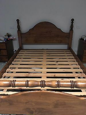 Queen Size Timber Bed Frame