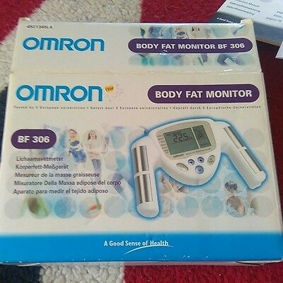 Omron BF306 BMI & Percentage Hand Held Body Fat Composition Monitor Fitness