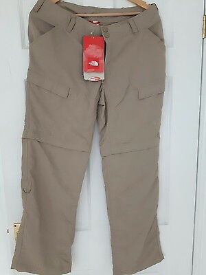 north face walking trousers shorts 8