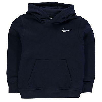 Brand New Boys Navy Nike Club Zip Hoody / Zip Jacket  Size 5-6 Yrs