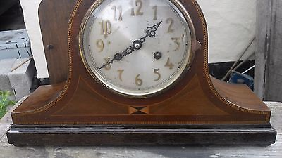 vintage 1920's NAPOLEON HAT MANTLE CLOCK