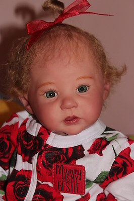 Reborn baby girl Raven ~limited edition sculpt by Ping Lau