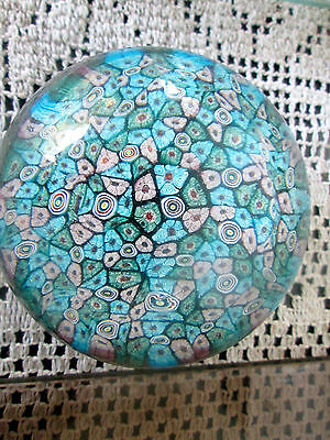 Close Pack Millefiori Paper Weight