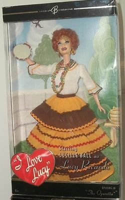 Barbie as LUCY in THE OPERETTA ~ I LOVE LUCY ~ LUCILLE BALL ~ EPISODE #38 NRFB