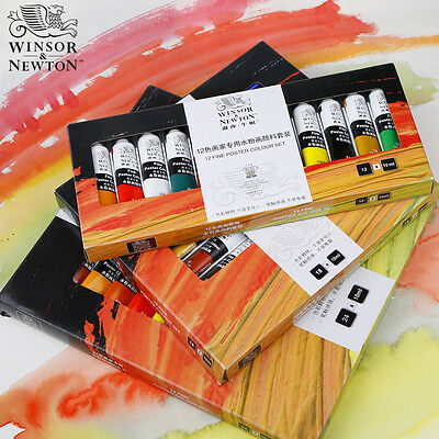 Winsor & Newton Artist Grade Transparent Gouache Paint Set 18 Colors Sets