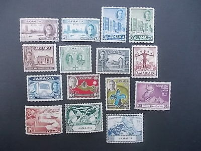 Jamaica,kgvi 1945 To 1952 Lot, Mint Hinged.3 Sets.