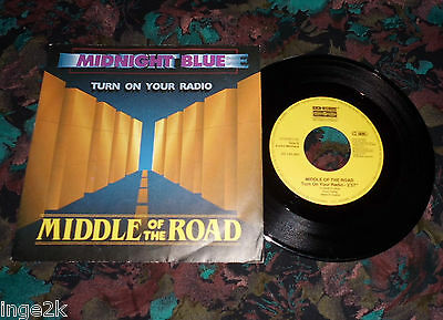 "7""Single - Middle of the Road - Midnight Blue"