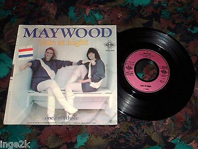"7""Single - Maywood - Late at Night"