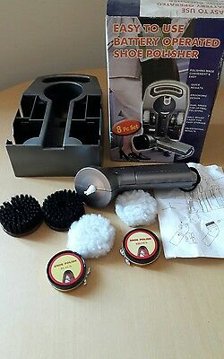 Battery operated shoe polisher brand new