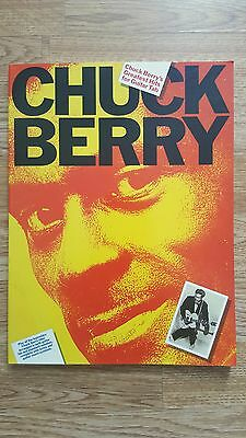 Chuck Berry Greatest Hits - Guitar Tab Sheet Music Book