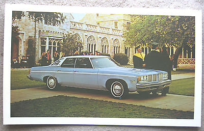 Vintage 70s Oldsmobile Delta 88 Eighty Eight dealership poster 1973 1974 1975 ??