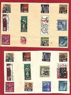 Ross1374: Malta Stamp Lot #2  **used** See Photo