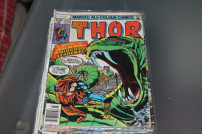 THE MIGHTY THOR No. 273 -1978 - MARVEL COMICS