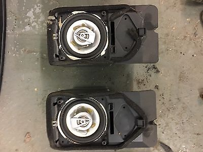 BMW E36 Coupe Rear Pioneer Speakers