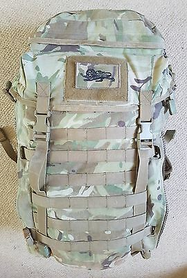 british military MTP pri 45ltr infantry bergen rucksack includes molle pouches