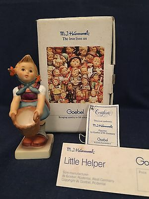 HUMMEL Goebel LITTLE HELPER  Hum 73 TMK6  New (074) collectible gift
