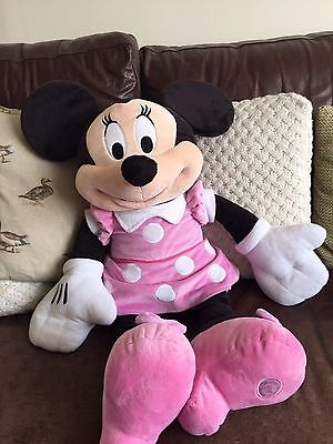 Large Official Disney Store Minnie Mouse